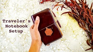 Traveler's Notebook Setup (pocket chic sparrow tour) // The Pocket Traveler