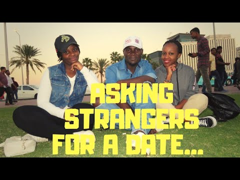 QATAR DOHA/ASKING STRANGERS FOR A DATE BY FORCE(prank) /FRASHIA WOKABI