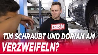 Tim schraubt - Rollentausch bei BBM | Kw Gewindefedern und Rotiform KPS  Einbau beim Audi A5 by BBM