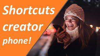Shortcut app | Shortcuts download | Shortcuts app android | Shortcut creator - 9 tech tips