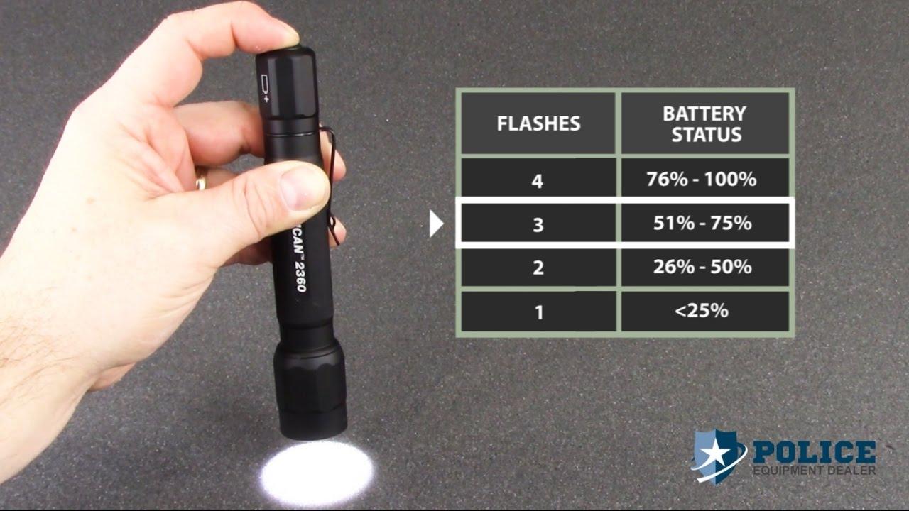 Pelican 2360 LED Tactical Flashlight