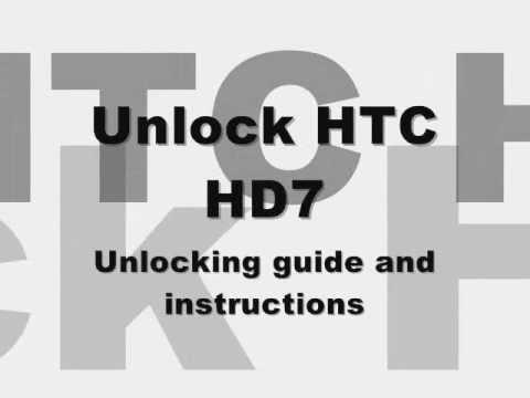 UNLOCK HTC HD7 - How to Unlock HTC Hd7 by Unlock Code