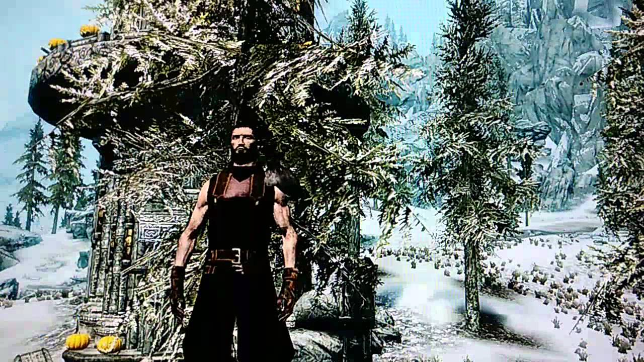 Skyrim Mods Xbox 360 - Final Fantasy VII Soldier (Armors & Weapon) by  AerysTMD