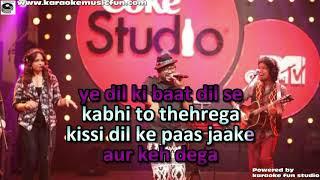 Tauba Coke Studio Papon Benny Dayal Video Karaoke With Lyrics
