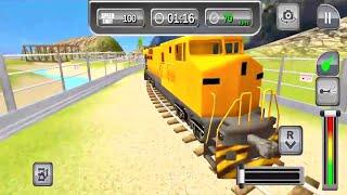 train simulator 2021 gameplay #1-Car games Android IOS gameplay ,ጌም ጨዋታ screenshot 4