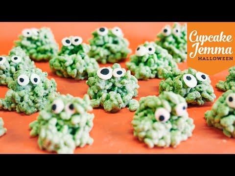 Get Halloween Special Pt.2 | Rice Creepies Recipe | Cupcake Jemma Pictures