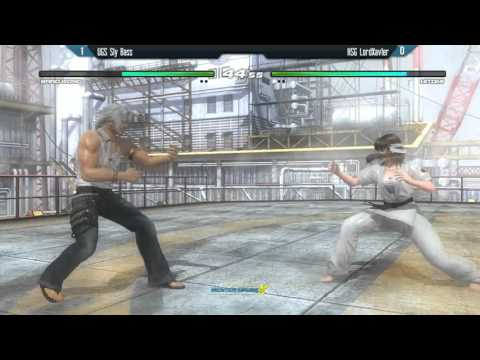 DOA5LR: Winter Brawl X - UGS Sly Bass (Brad Wong) vs HSG LordXavier (Hitomi) - Top 8