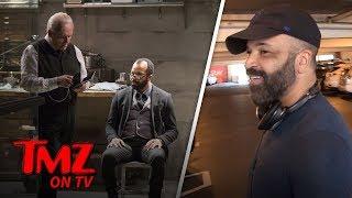 Jeffrey Wright Wants to Hide From Killer Robots | TMZ TV