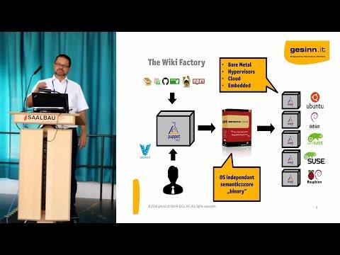 Semantic Core - Seven years of Enterprise Class MediaWiki - Alexander Gesinn, gesinn.it