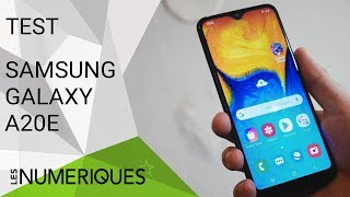 Samsung Galaxy A20e : On l'a testé !