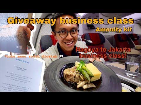 GARUDA INDONESIA NAGOYA TO JAKARTA BUSINESS CLASS | A330-300 | BEST PLANE SPOTTING SPOT IN JAPAN!