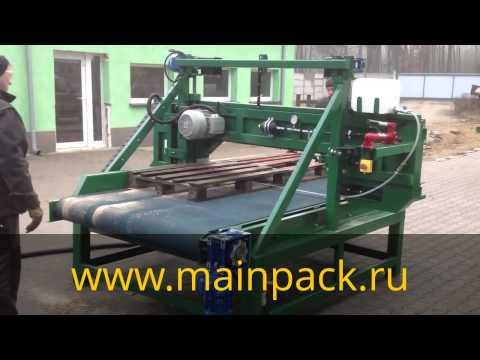 видео: Станок для разборки и ремонта поддонов Оптима palletsaw