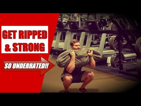 #1 Most Underrated Piece Of Equipment For Getting Ripped & Strong [Sandbags!]   Chandler Marchman