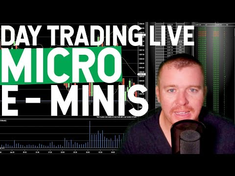 LIVE DAY TRADING MICRO E MINIS!
