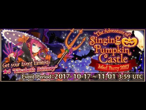 Fate Grand Order Halloween 2017 Event US Sweet Candle Farming Guide