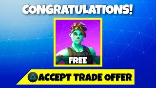 GIFTING MY FANS FREE SKINS ON FORTNITE! (Fortnite Gifting System)