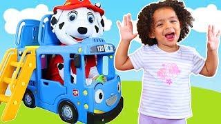 Wheels on the Bus   +More Nursery Rhymes & Kids Songs - Leah's Play Time