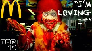 Top 10 Scary McDonald's Urban Legends - Part 2