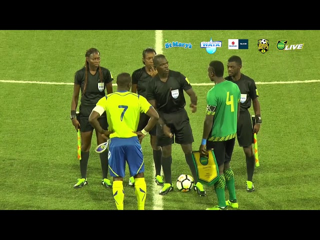 Jamaica Senior Reggae Boyz VS Barbados International Friendly, August 2018