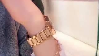 Montre bijoux pour femme de luxe garantie 1 ans