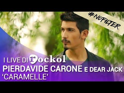 PierDavide Carone e DearJack, i live di Rockol: 'Caramelle' (#NoFilter)