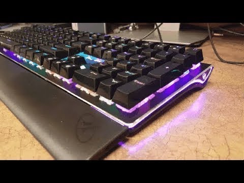 Rosewill NEON K85 RGB Mechanical Gaming Keyboard Review