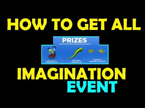 Roblox - Imagination Event - How To Get All Prizes