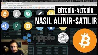 ALTCOİNLER İLE PARANIZI 2'YE KATLAYIN (Bitcoin-Altcoin Nasıl Alınır?) #11