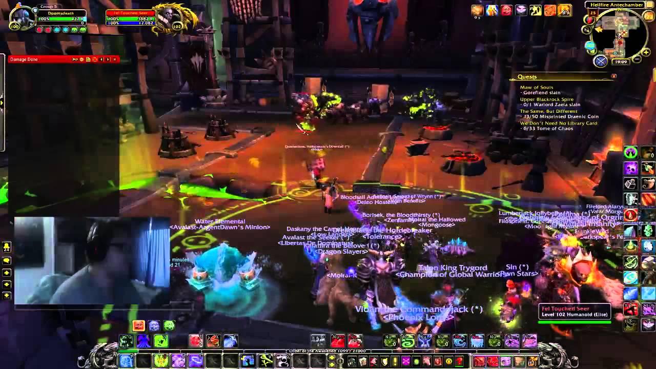 Hellfire Citadel Halls of Blood - YouTube