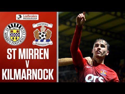 St Mirren 0-1 Kilmarnock | Late Millar goal keeps home side bottom | Ladbrokes Premiership