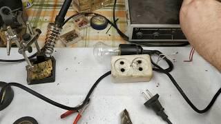 как сделать простейшее зарядное устройство для аккомулятора