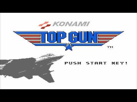 1988 Topgun NES Old School retro game playthrough