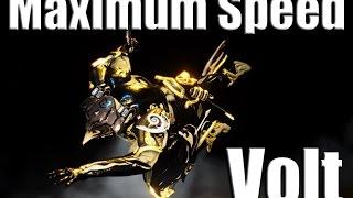 Warframe Build: Max Speed Volts (Also a big stream announcement!) thumbnail