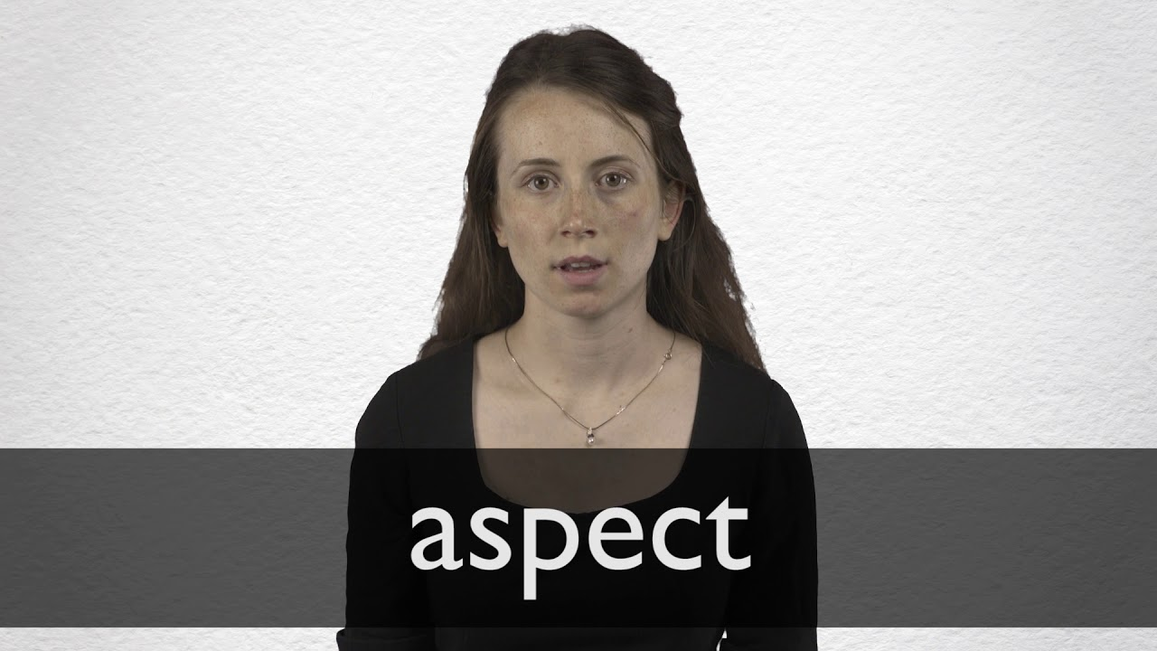 How to pronounce ASPECT in British English