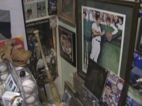 Baseball Card Room