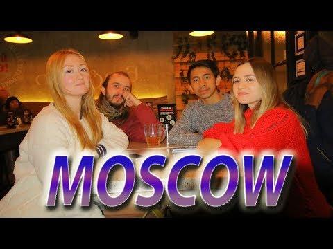 Liburan di Moskow ditemani orang Rusia #vlog