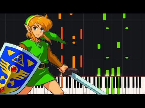 Intro - The Legend of Zelda: A Link to the Past [Piano Tutorial] (Synthesia) // Zebeldarebel
