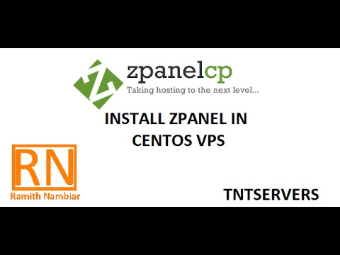 Install Zpanel in Centos VPS