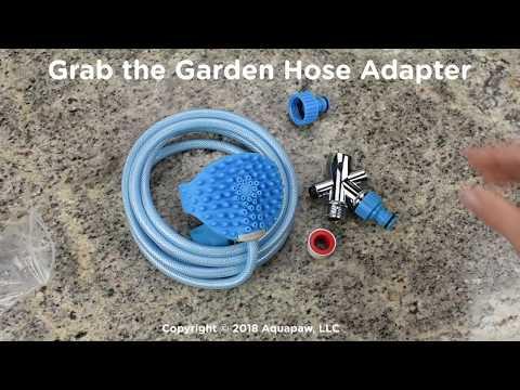 How to Set-up an Aquapaw® Pet Bathing Tool
