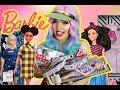BARBIE FASHIONISTAS 2018 e fashion packs da Hello Kitty !!