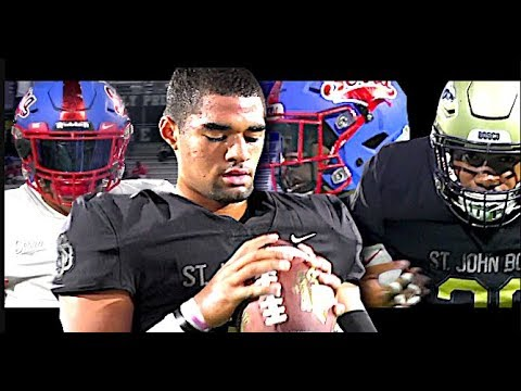 🔥🔥  #1 Team In The NATION St. John Bosco v Serra the NFL & D1 Factory | HISTORIC PLAYOFF MATCH-UP
