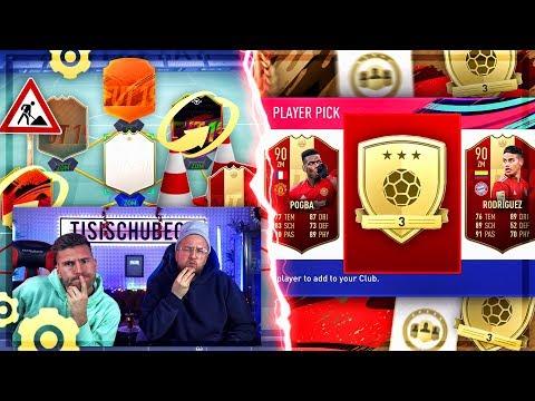 FIFA 19:GOLD 3 REWARDS EXPERIMENT + TEAMBAU !!  POGGGBAAA wo bist du mein SONNENLICHT !! thumbnail