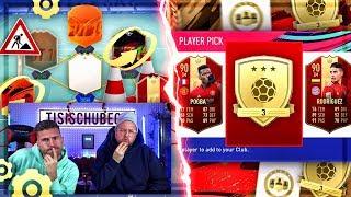 FIFA 19:GOLD 3 REWARDS EXPERIMENT + TEAMBAU !!  POGGGBAAA wo bist du mein SONNENLICHT !!