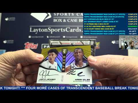 2017 18 Panini Totally Certified Basketball Hobby 8 Box Case