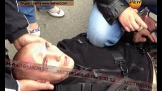 Допрос дагестанца, который избил полицейского. Экстренный вызов 112. РЕН ТВ