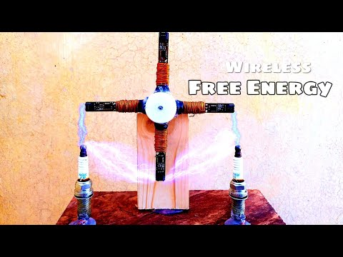 Free Electricity Generator ,CFL Energy New DC Electric  Generator 2020 New Experiment