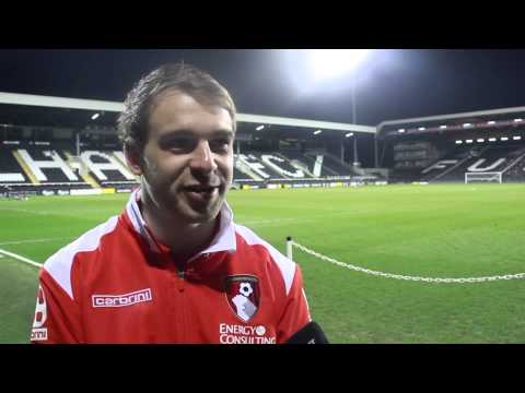 Extra time | Tommy Elphick interrupts Brett Pitman's post-match interview