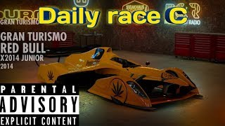 Gran turismo sport. Daily race C and practice