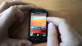 Sony Ericsson Live with Walkman review (rus.)(Обзор мобильного телефона Sony Ericsson Live with Walkman (WT19i) Экран: 3,2