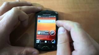 Sony Ericsson Live with Walkman review (rus.)(Обзор мобильного телефона Sony Ericsson Live with Walkman (WT19i) Экран: 3,2